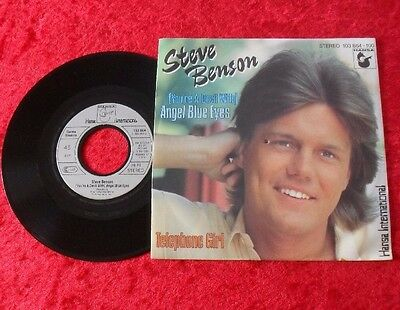 "Single 7"" Steve Benson (Dieter Bohlen) - (You're a devil with) Angel Blue Eyes"