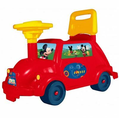 Disney Mickey Mouse Toddler Ride On Car Vehicle Childrens Infant Push Along Toy