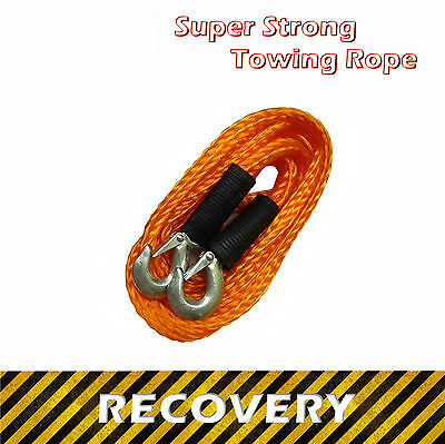 Super Strong Towing Rope 3000 KG ☠ 4m / 400cm ☠ Heavy Duty Strap for Recovery