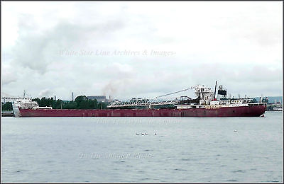 Photo: The SS Arthur M Anderson - Edmund Fitzgerald Rescue Freighter, Color 1968