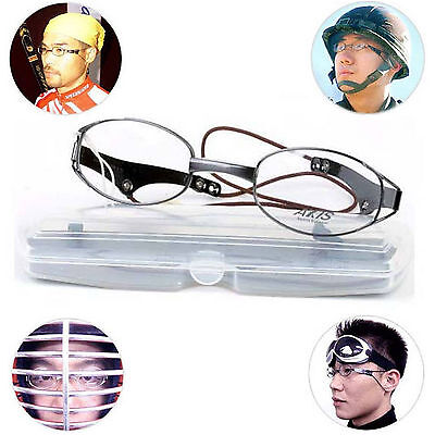 Sports Metal Eye Glasses Active Sporting Mania Enthusiasts Kendo Goggles Soldier