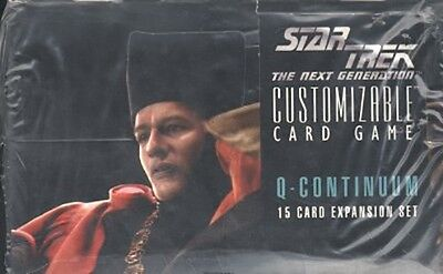 Star Trek Ccg : Q-Continuum 36-Pack Sealed Booster Box