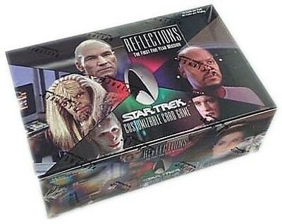Star Trek Ccg : Reflections 1 Sealed Booster Box Lot X 2 - Two Boxes