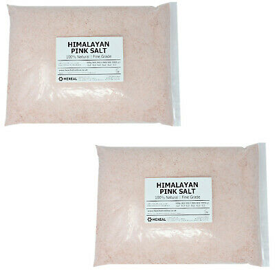 HIMALAYAN PINK SALT | 10KG BAG | FINE | 100% Natural | Food/Cosmetic