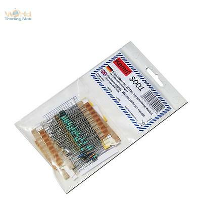 KEMO Assorted Resistors approx. 200 Piece S001, Dropping Resistor Resistor SET