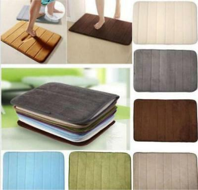 Soft Non-slip Touch Bathroom Carpet Memory Foam Bath Rug Slow Rebound Mat HOT FW