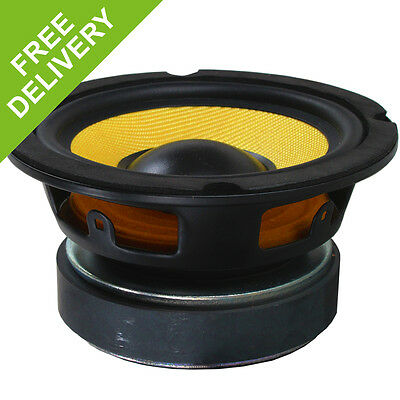 5.25 inch 200W Passive High Power Hifi Woofer Driver Speaker with Kevlar Cone