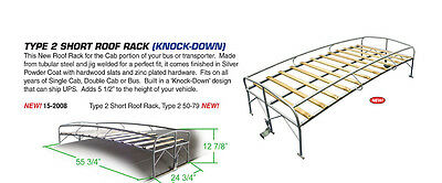 Vw Bus Short Roof Rack (Knock Down) 1950-1979 Empi 15-2008
