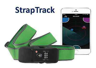 Bluetooth 4.0 Luggage Strap TSA Accepted Lock for iPhone6S and Galaxy S6 - GREEN