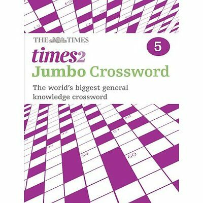Times 2 Jumbo Crossword Book 5 The Mind Games Times2 Books Paperb. 9780007368525