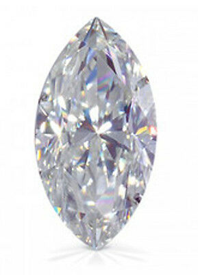 3 ct Marquise Extra Brilliant Vintage  Top Russian Quality CZ  14 x 7 mm