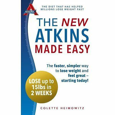 The New Atkins Made Easy Heimowitz Vermilion Paperback / softback 9780091954918
