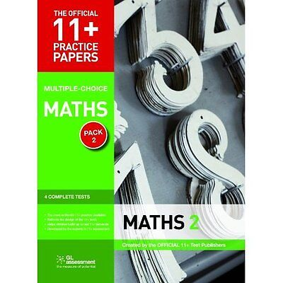 11+ Practice Papers Maths Pack 2 GL Assessment Pamphlet 9780708720479