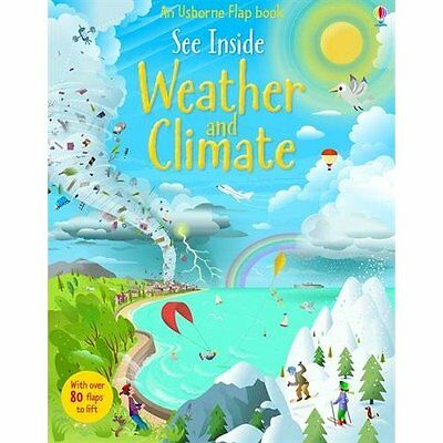 See Inside Weather & Climate Daynes, Tate Usborne Board book 9781409563983