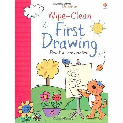 Wipe-Clean First Drawing Greenwell Lamb Usborne Paperback / softb. 9781409563280