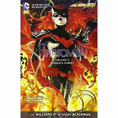 Batwoman Worlds Finest Volume 3 52e Williams Blackman DC Comics P. 9781401246105