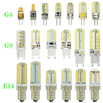 G4 G9 E14 Led Bulbs Led Candle Lights Replace Halogen Lamp Capsule Bulbs