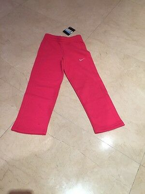 Nike Little Girls Track Pant - Bottoms - Hot Pink - Age 5 To 6 - RRP £20 - SALE