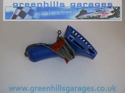 Greenhills Scalextric Classic Hand Controller Fully Vented in Blue A265  *