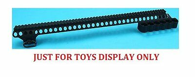 G&P TOYS Dummy display Receiver Rail (Long) for Marui M870 Airsoft (GP-MSP001L)