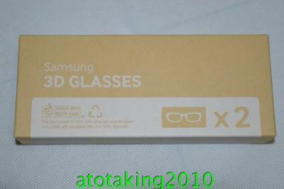 2X NEW  Samsung SSG-5100GB Active 3D Glasses Battery Operated 2013 Models