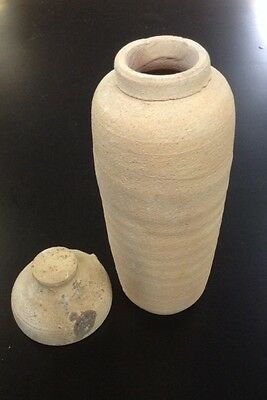 Biblical Ancient Antique Treasures Jug Holy Land Jewish Dead Sea Scroll Jar
