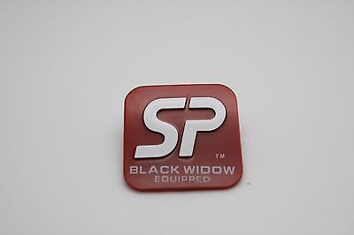PEAVEY SP Black Widow Equipped Plastic Logo Badge
