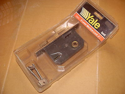 Yale PM901 3 Lever Mortice Lock - As Photo.