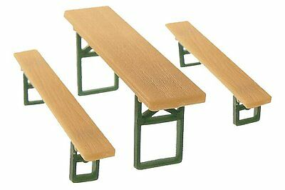 Faller 180444 HO 1/87 40 Bancs et 20 Tables de brasserie