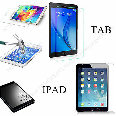 Real Gorilla Tempered Glass Screen Protector Film Cover For Apple Ipad & Tablet