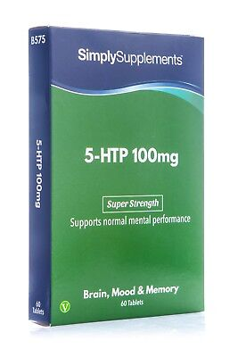 5HTP 100mg 60 Tablets | Can Help Ease Anxiety, Insomnia & Control Your Appetite