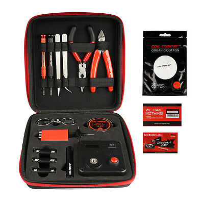 Authentic Coil Master V3 DIY TOOL Kit Set Coil Jig w 521 Tab Mini 2016 Release