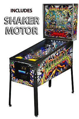 Stern Metallica Monster Premium Pinball Machine with Shaker Motor