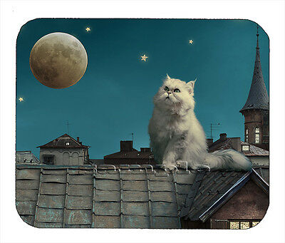 Item#1721 The Cat and the Moon Mouse Pad