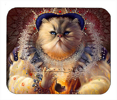 Item#1732 The Queen Cat Art Mouse Pad