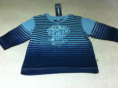 Baby Boys Jean Bourget Long Sleeve Top-Bnwt -Size 6 Mths