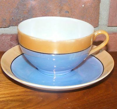 Cup & Saucer Set Marked Japan on the Bottom