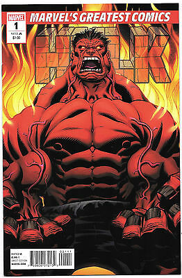 Hulk #1 Marvel Comics NM- 2nd print MGC Greatest 1st Red App 2010 McGuinness