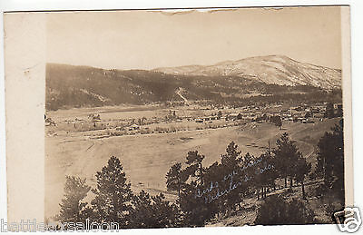 RPPC - Nederland, CO - Birdseye Town View - early 1900s
