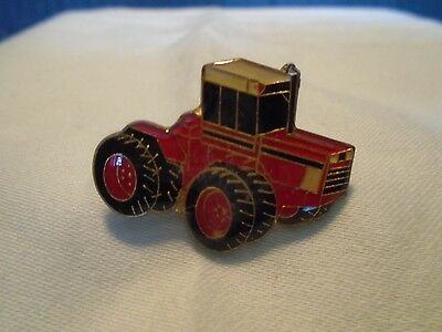 Red Tractor Enamel Pin