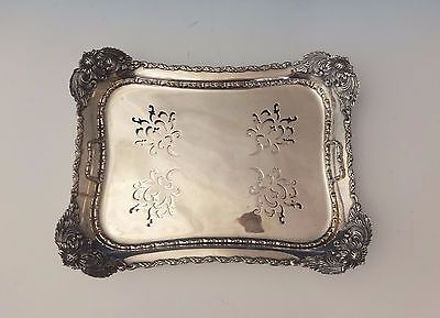 Chrysanthemum By Tiffany And Co Sterling Silver Asparagus Tray Pierced (#0147)
