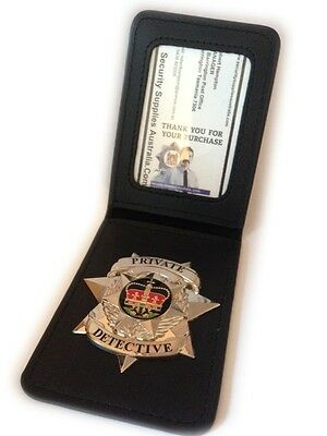 2 x Badge Wallets, with LARGE ID Window