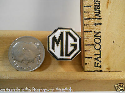 1959 MGA ROADSTER Black White MG Enamel Collectable Lapel Hat Vest Pin Tie Tack