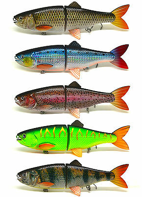 Pike Fishing Bait Lure Jerkbait Swimbait Life-like Shad NEW