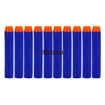 Kids Toy For NERF N-Strike Gun Bullet Darts Round Head Blue Blasters 400 pcs