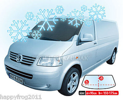 VAN Delivery Vehicle ANTI_FROST COVER for windscreen windshield WINTER PLUS MAXI