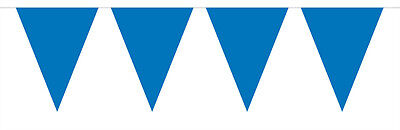 Blue Flag Party Bunting 15 Flags 10M Party Decoration