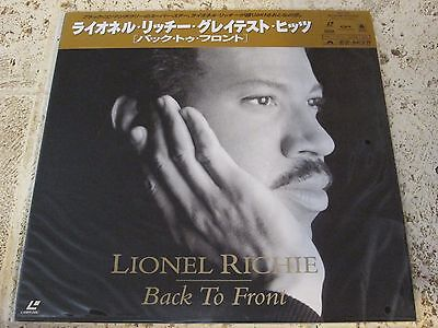 Lionel Richie / Back To Front Best Videos -- Music  Obi Japan   Like New Ld