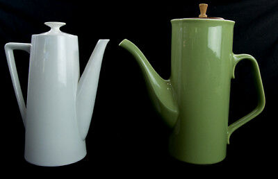 MID CENTURY MODERN Iron stone Teapot Coffee Tea Pot Harmony House Moonstone LOT