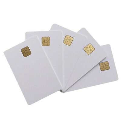 50X Inkjet Printable PVC ID Card with SLE 4428 Chip Smart Contact IC Card